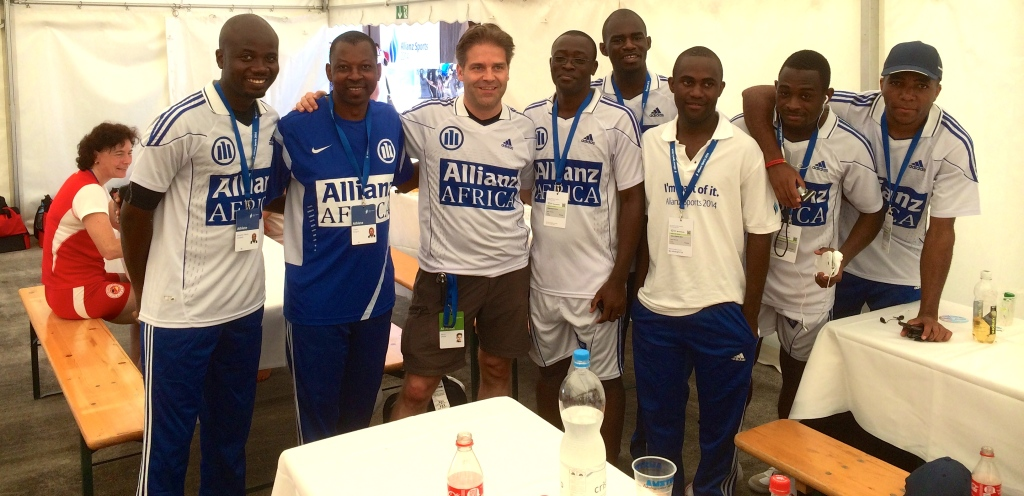 Allianz Africa Soccer Team