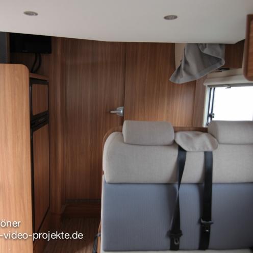Carado T334 innen |Innenbereich mit geschlossener Türe