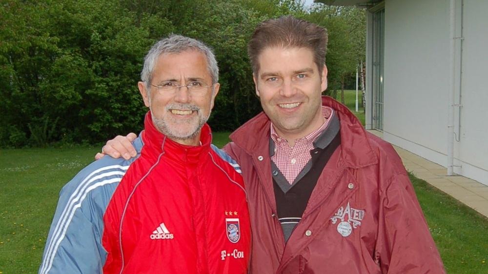 Hanns mit Gerd Müller