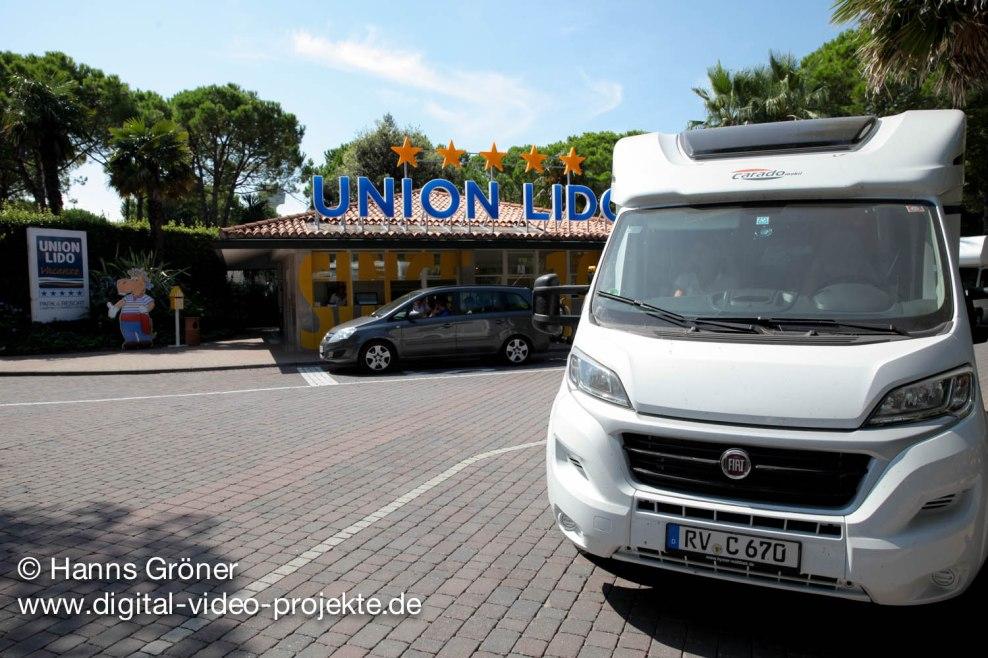 Italien  Cavallino  Camping Union Lido