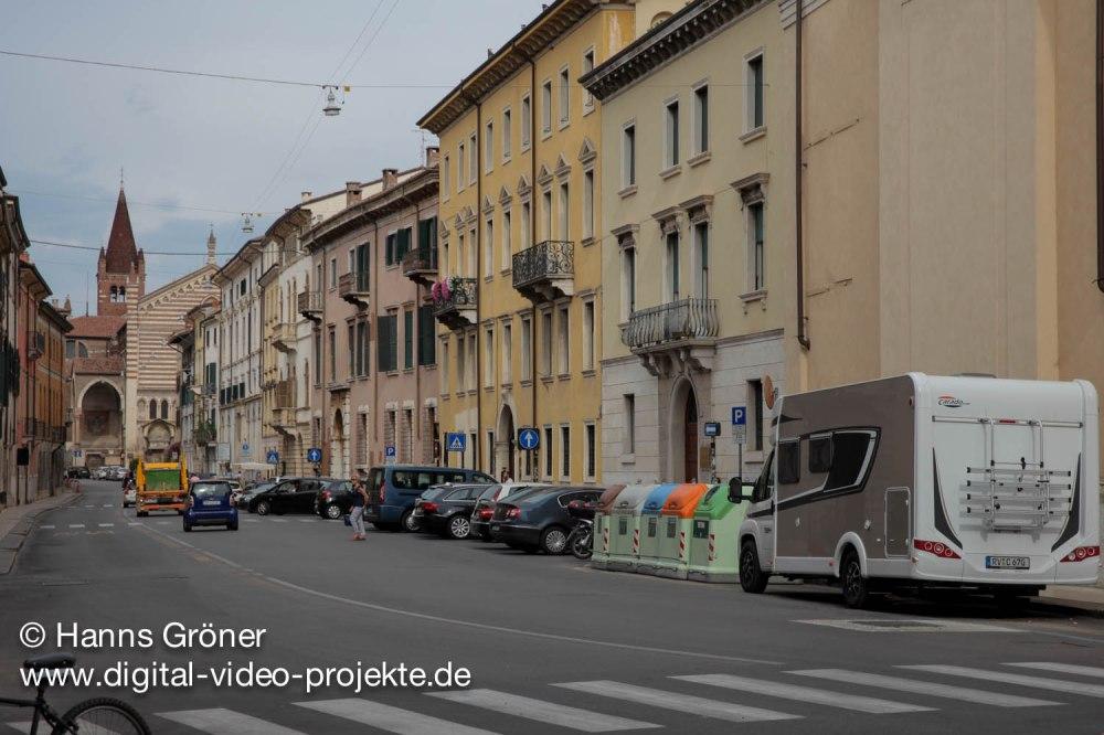 Italien | Verona | Parkplatz