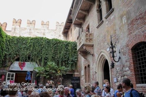 Italien   Verona   Balkon von Romeo und Julia