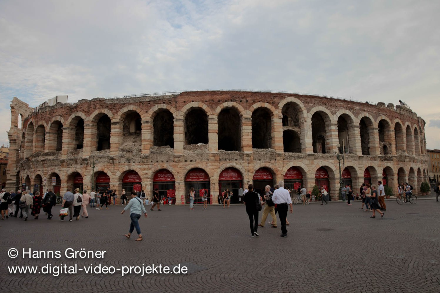 Italien  Arena di Verona