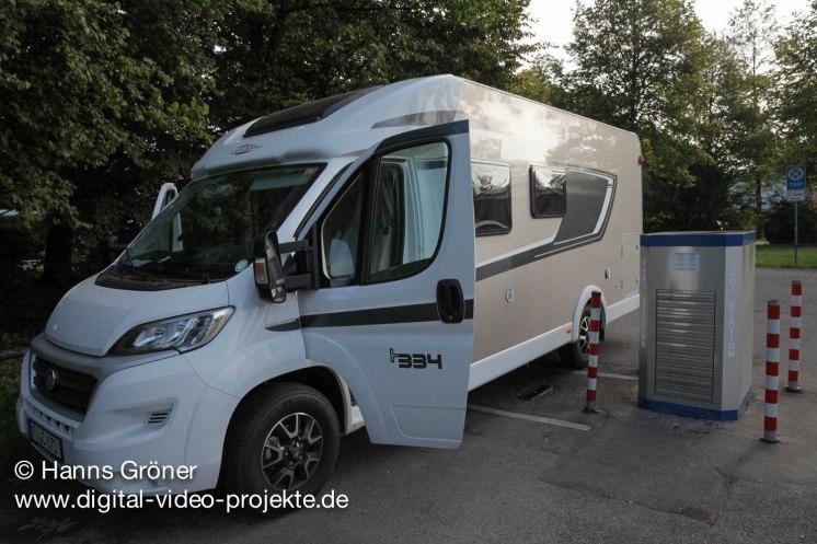 LIndau | Stellplatz Blauwiese P1 | Entsorgungsstation