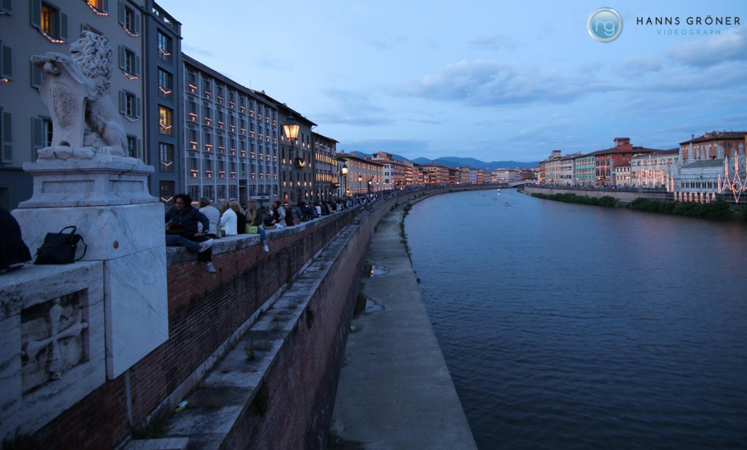 Italien |Pisa - Luminaria di San Ranieri