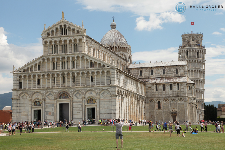 Italien |Pisa - Dom und schiefer Turm