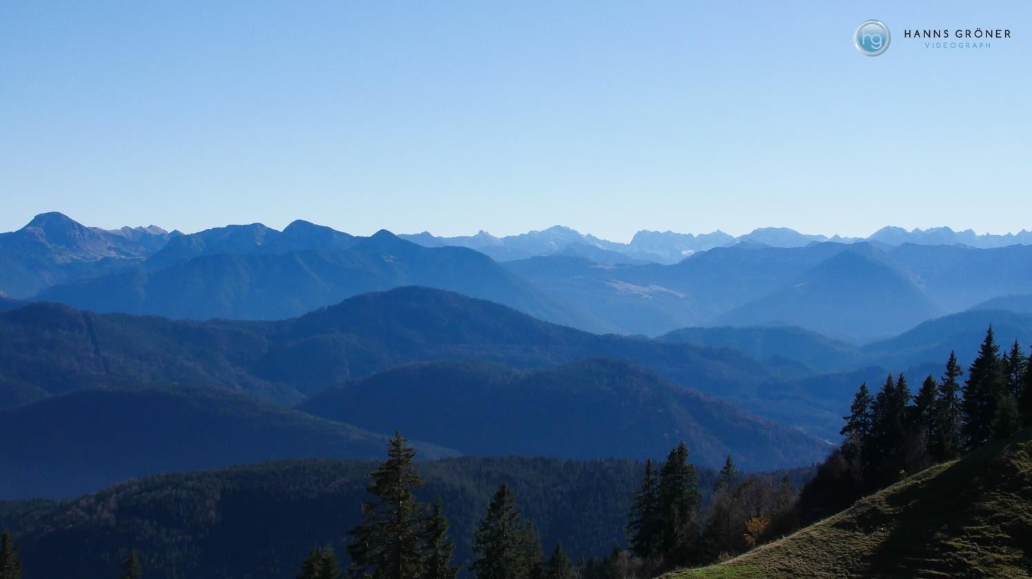 Alpenkette im Süden Foto: Hanns Gröner