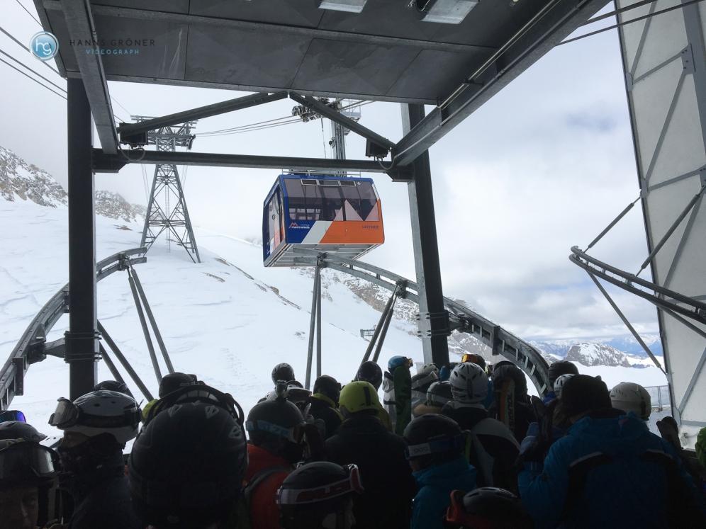 Letzte Zwischenstation vor dem Gipfel