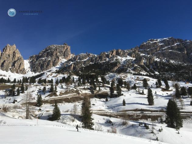 Vom Dantercepies nach Corvara (Foto: Hanns Gröner)