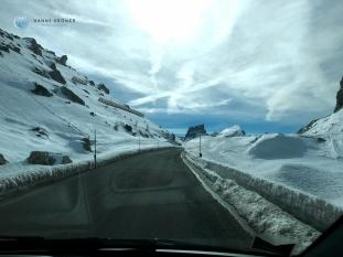 Passtrasse zum Falzarego (Foto: Hanns Gröner)