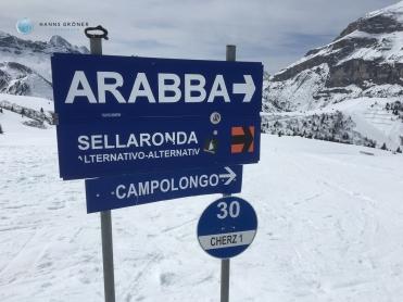 Auf dem Rückweg zum Campolongo (Foto: Hanns Gröner)