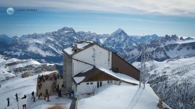 Lagazuoi - Bergstation (Foto: Hanns Gröner)