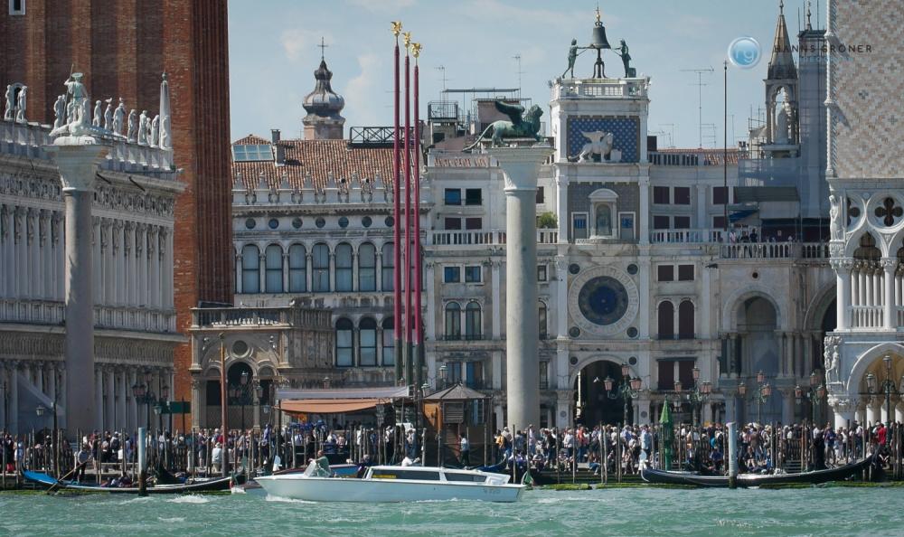Venedig | Uhrturm Torre dell'Orologio (Foto: Hanns Gröner)