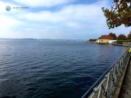 Meersburg Blick Richtung Konstanz (Foto: Hanns Gröner)
