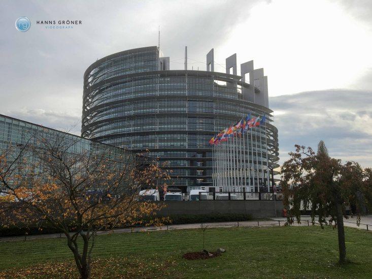 Straßburg im November 2016 |Europäisches Parlament (Foto: Hanns Gröner)