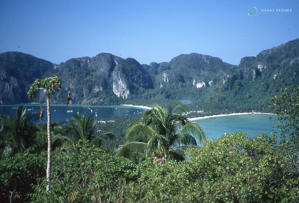 Blick vom View Point auf Ko Phi Phi Don (1997)