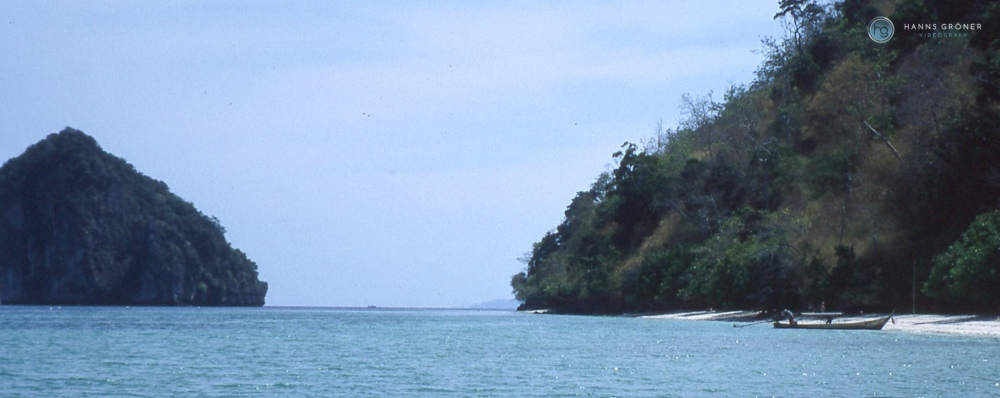 Railay Beach (1997, Foto: Hanns Gröner)