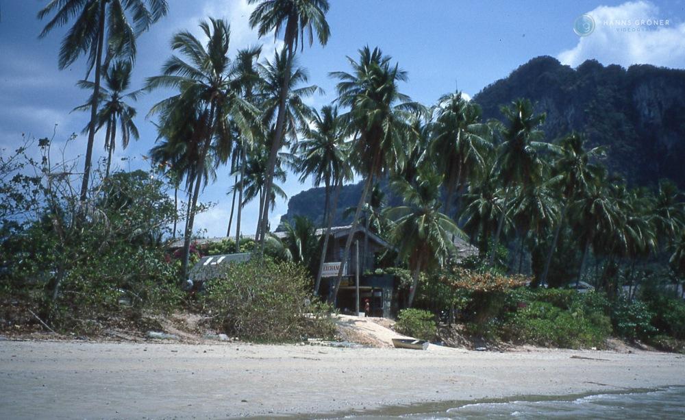 Wechselstube in Ao Nang (1997, Foto: Hanns Gröner)