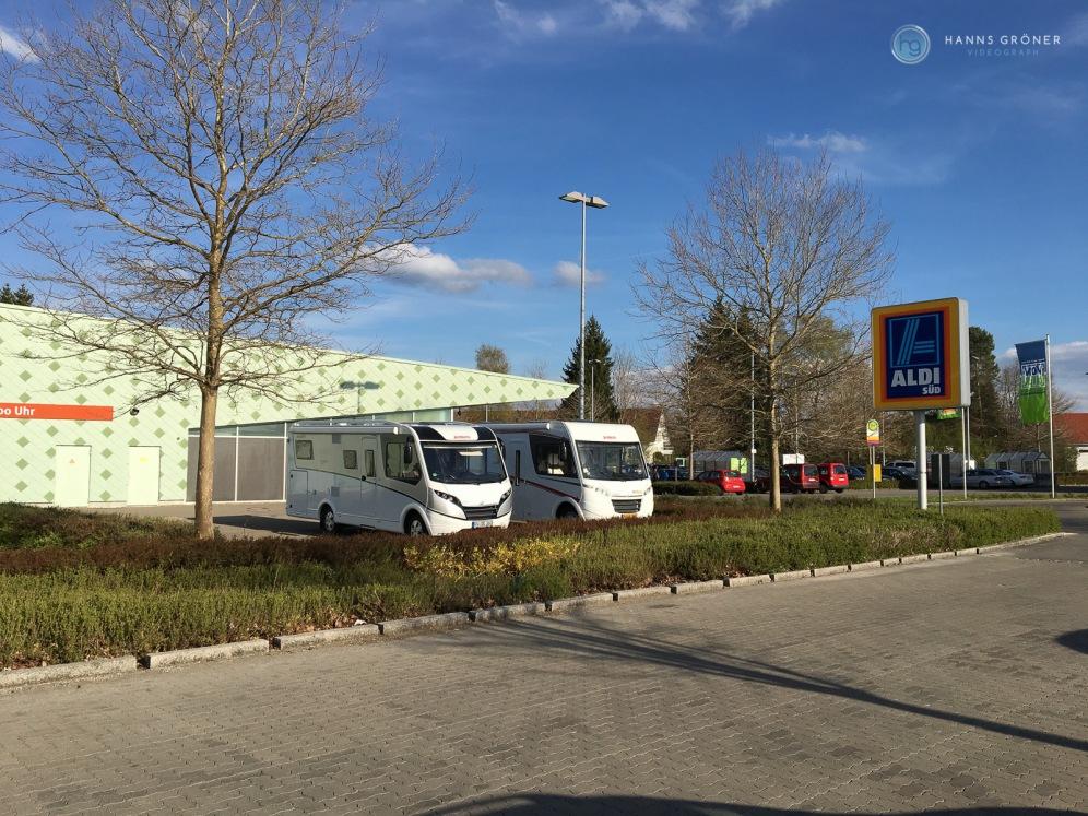 """Isny - """"Versorgungsstation"""" nahe Dethleffs und McRent (Foto: Hanns Gröner)"""