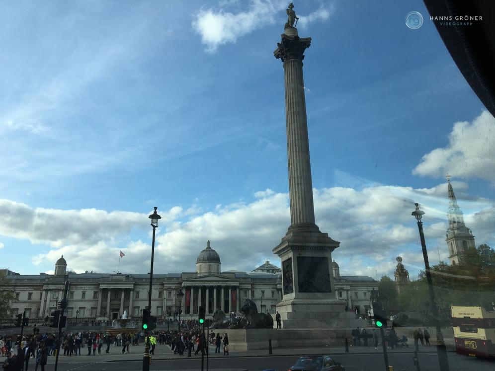 London Impressionen - Trafalgar Square (Foto: Hanns Gröner)