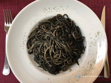 Venedig 2017 - Lieblingsgericht - Spaghetti al nero di seppia (Foto: Hanns Gröner)