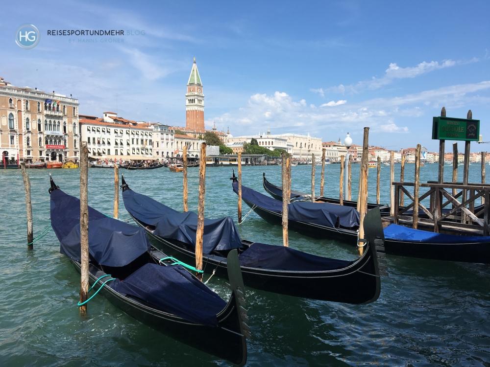 Venedig - Blick von Santa Maria della Salute auf San Marco und den Dogenpalast (Foto: Hanns Gröner)