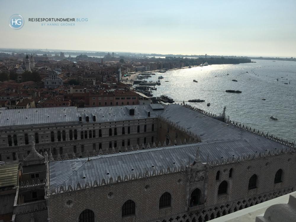 Blick vom Glockenturm San Marco auf Venedig (Foto: Hanns Gröner)