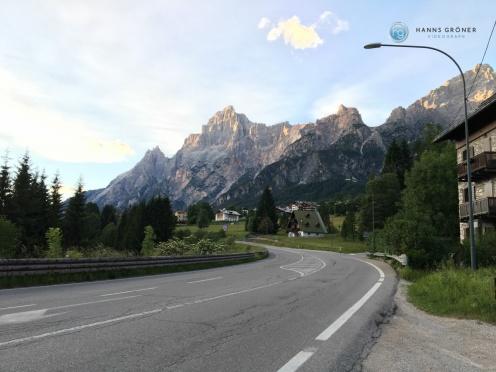 Nähe Cortina d'Ampezzo (Foto: Hanns Gröner)