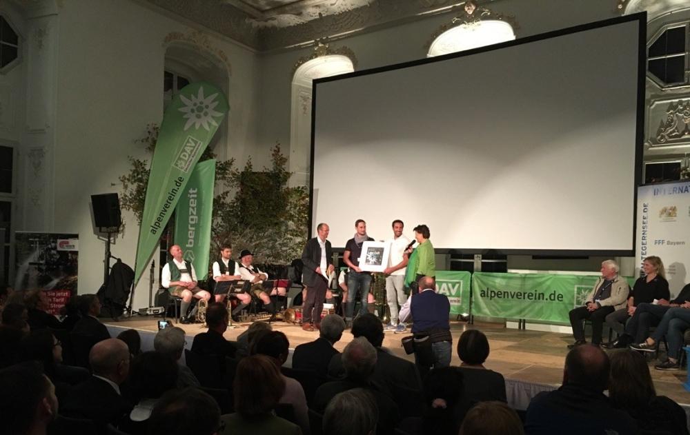 """Berfilmfestival Tegernsee 2017 Abschlussabend - Auszeichnung """"Last Exit"""" (Foto: Hanns Gröner)"""