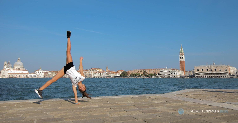 Venedig 2017 - Turnkunst auf San Giorgio
