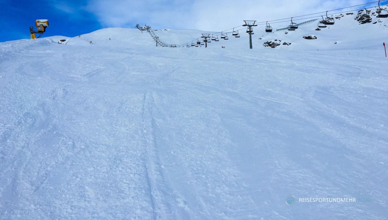 Skigebiet Gerlos / Königsleiten am 16.12.2017