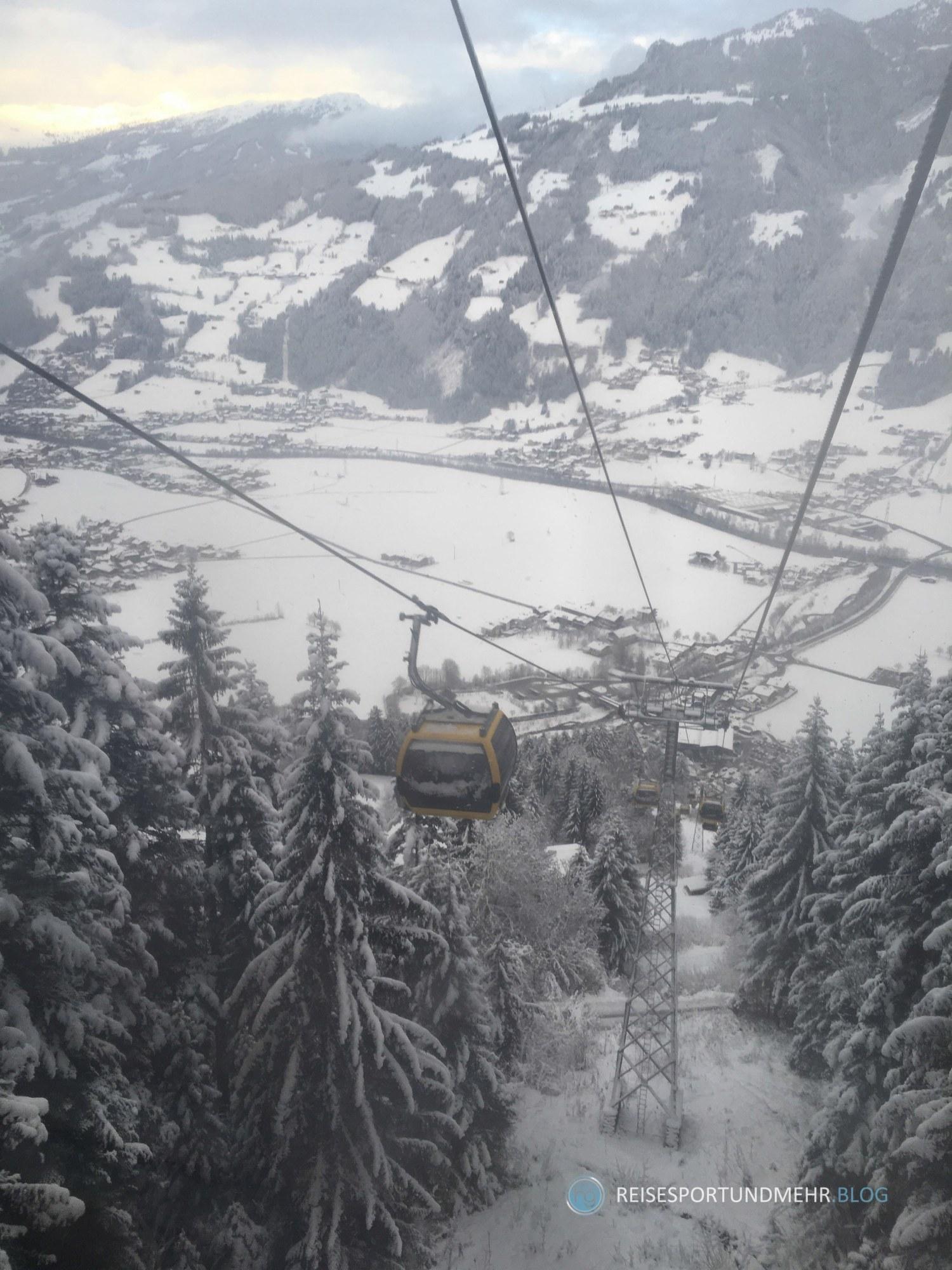Zillertal am 17.12.17 Talfahrt Hippach (Foto: Hanns Gröner)