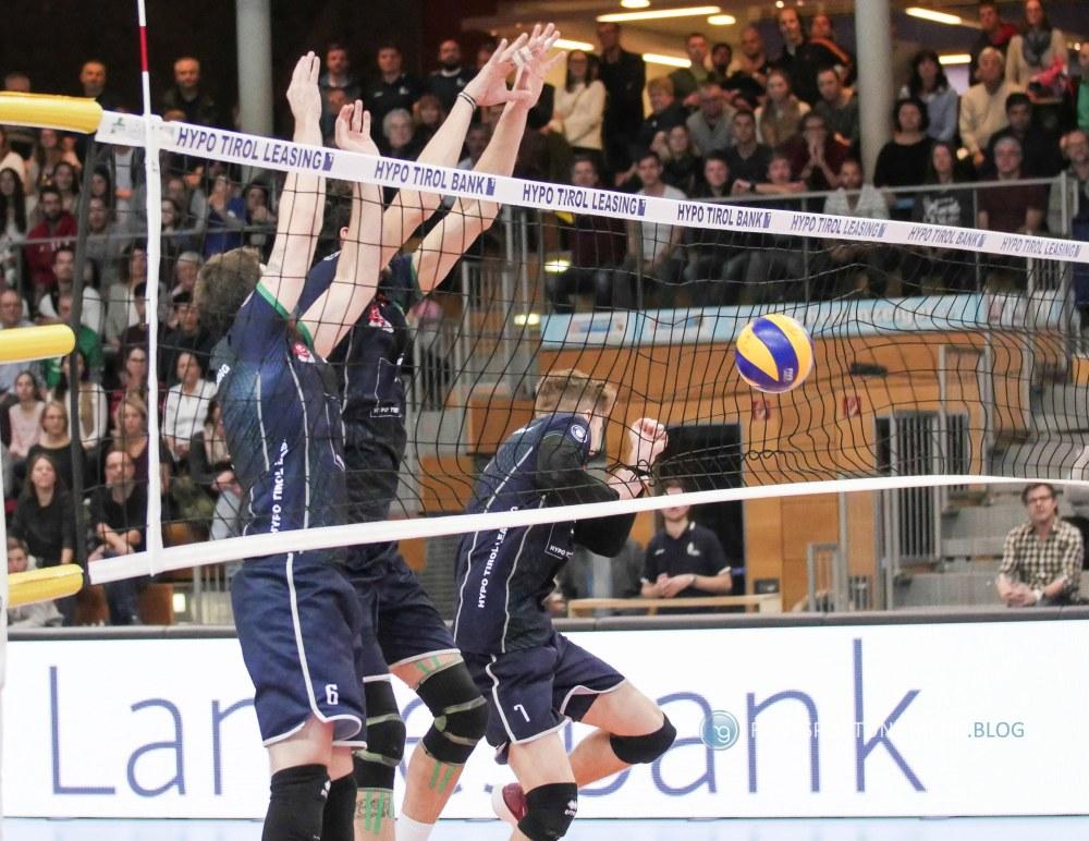Alpen Volleys Haching - TSV Herrsching 11.2.2018 - Foto: Hanns Gröner