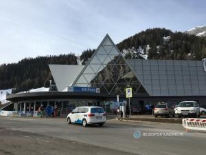 Dolomitenreise mit dem Wohnmobil im März 2017 - Boé Bahn Corvara | Foto: Hanns Gröner