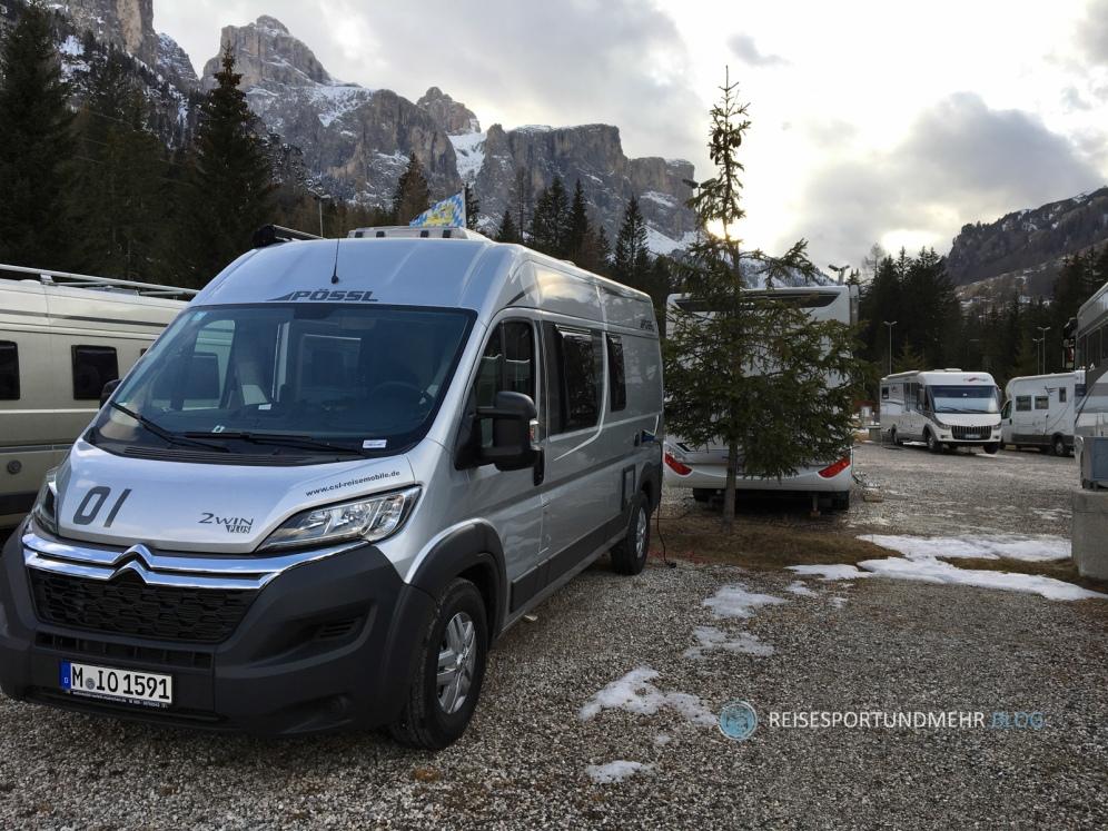 Dolomitenreise mit dem Wohnmobil im März 2017 | Foto: Hanns Gröner