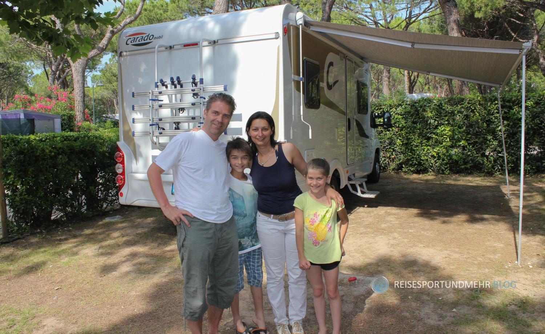 Unser erster Urlaub mit dem Wohnmobil (Foto: Hanns Gröner)