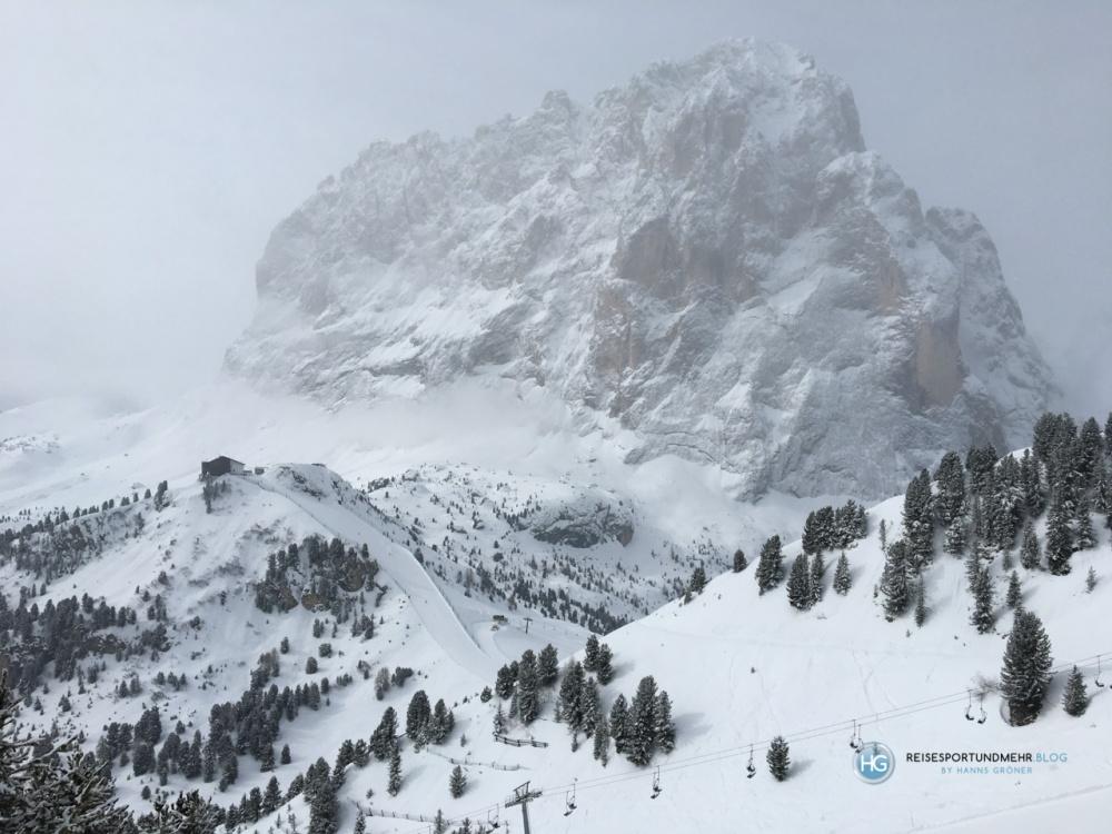 Dolomiten 2018 - Blick vom Ciampinoi auf den Langkofel (Foto: Hanns Gröner)