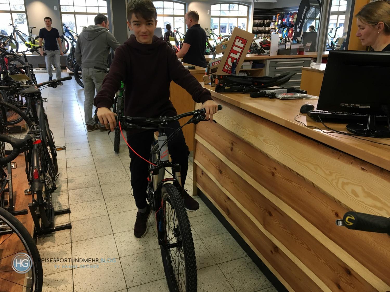Jugend Mountain Bike (Foto: Hanns Gröner)