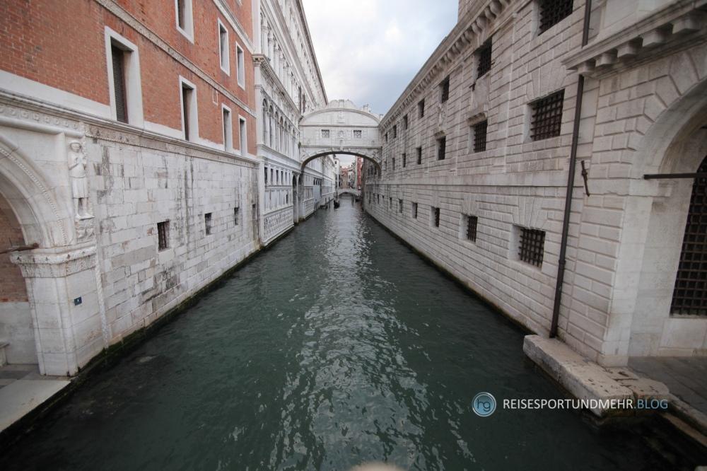 Venedig - Seufzerbrücke (Foto: Hanns Gröner, 2015)