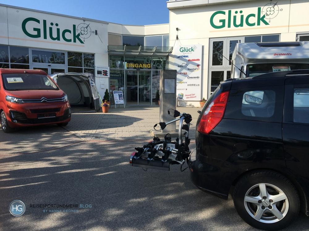 Kauf Fahrradträger (Foto: Hanns Gröner)