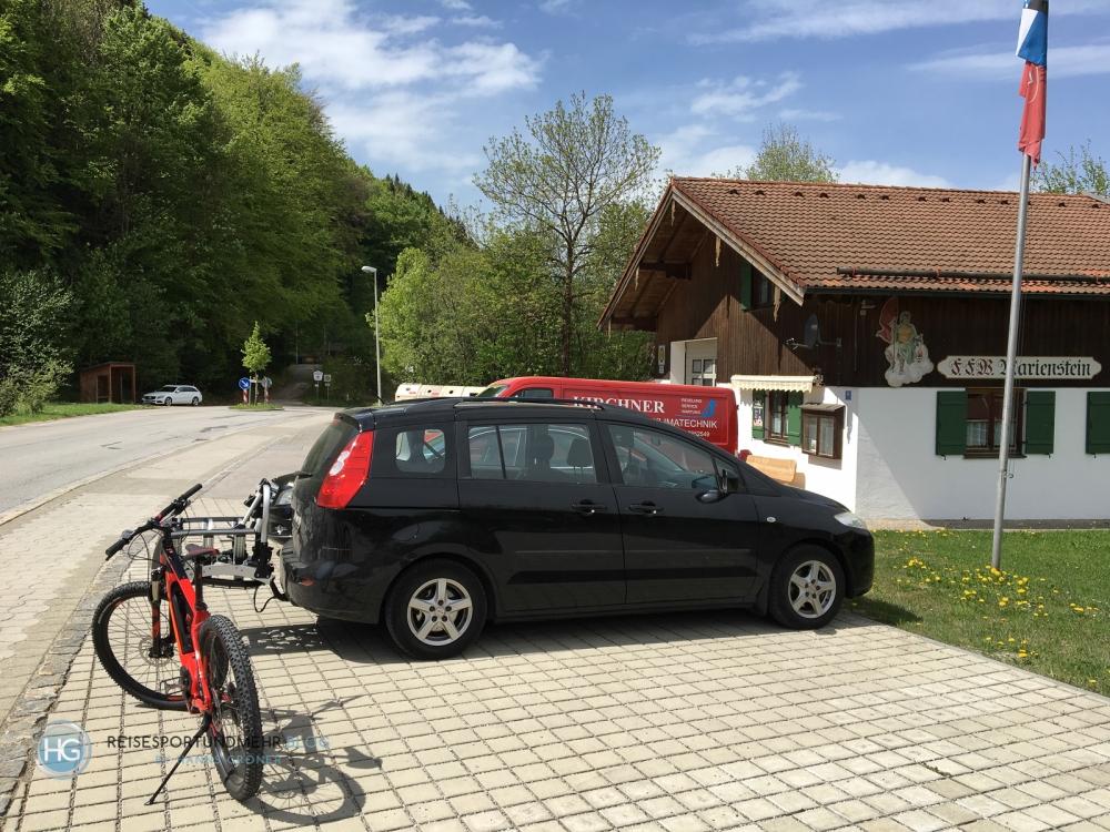 Die erste Tour - Marienstein (Foto: Hanns Gröner)