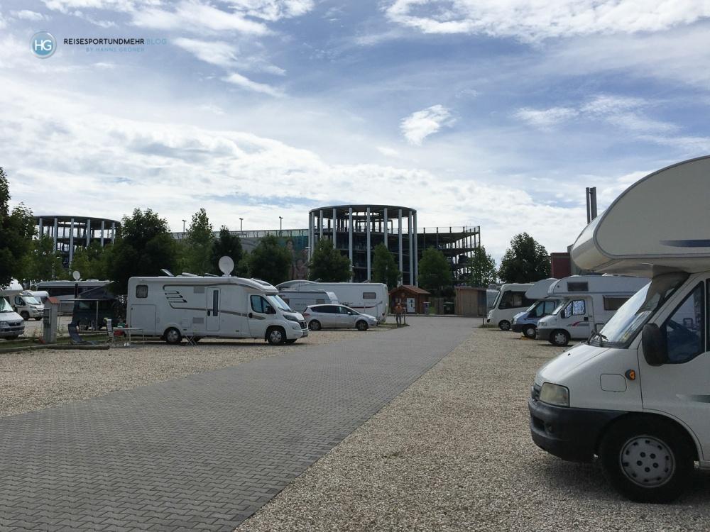 Mit dem Wohnwagen zur Therme Erding (Foto: Hanns Gröner)