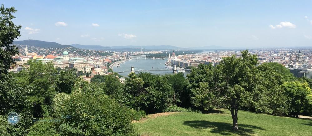 Blick auf Budapest (Foto: Hanns Gröner)