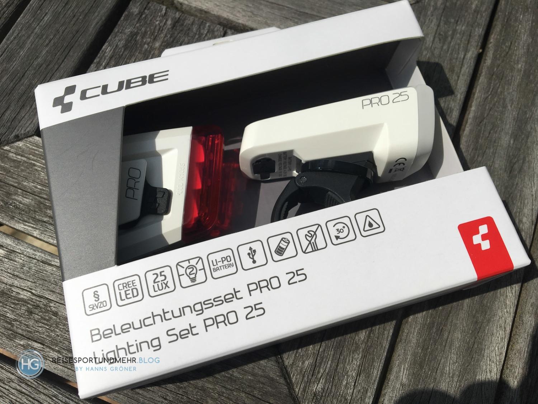 Cube Beleuchtungsset Pro 25 (Foto: Hanns Gröner)