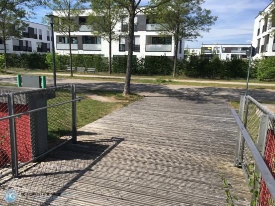 Fahrradunfall Riemer Park (Foto: Hanns Gröner)