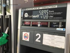 Tankstelle bei Kufstein Süd (Foto: Hanns Gröner)