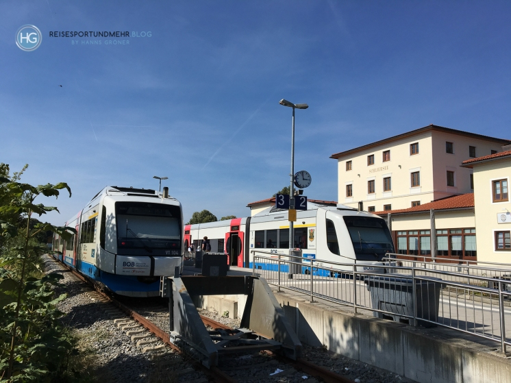 Schliersee Bahnhof (Foto: Hanns Gröner)