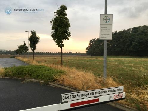 Car2Go Parkplatz Monheim am Rhein (Foto: Hanns Gröner)