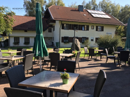 Café Haslberger in Waging am See (Foto: Hanns Gröner)