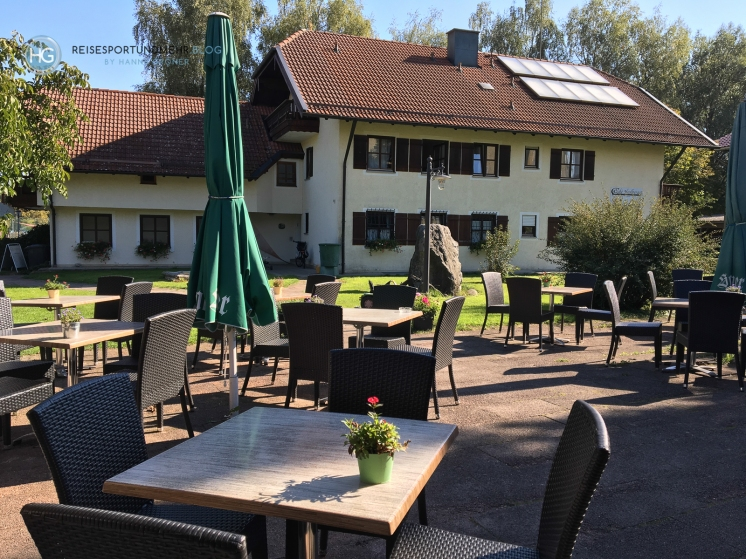 Café Haslberger in Waging am See (Foto: Hanns Gröner)